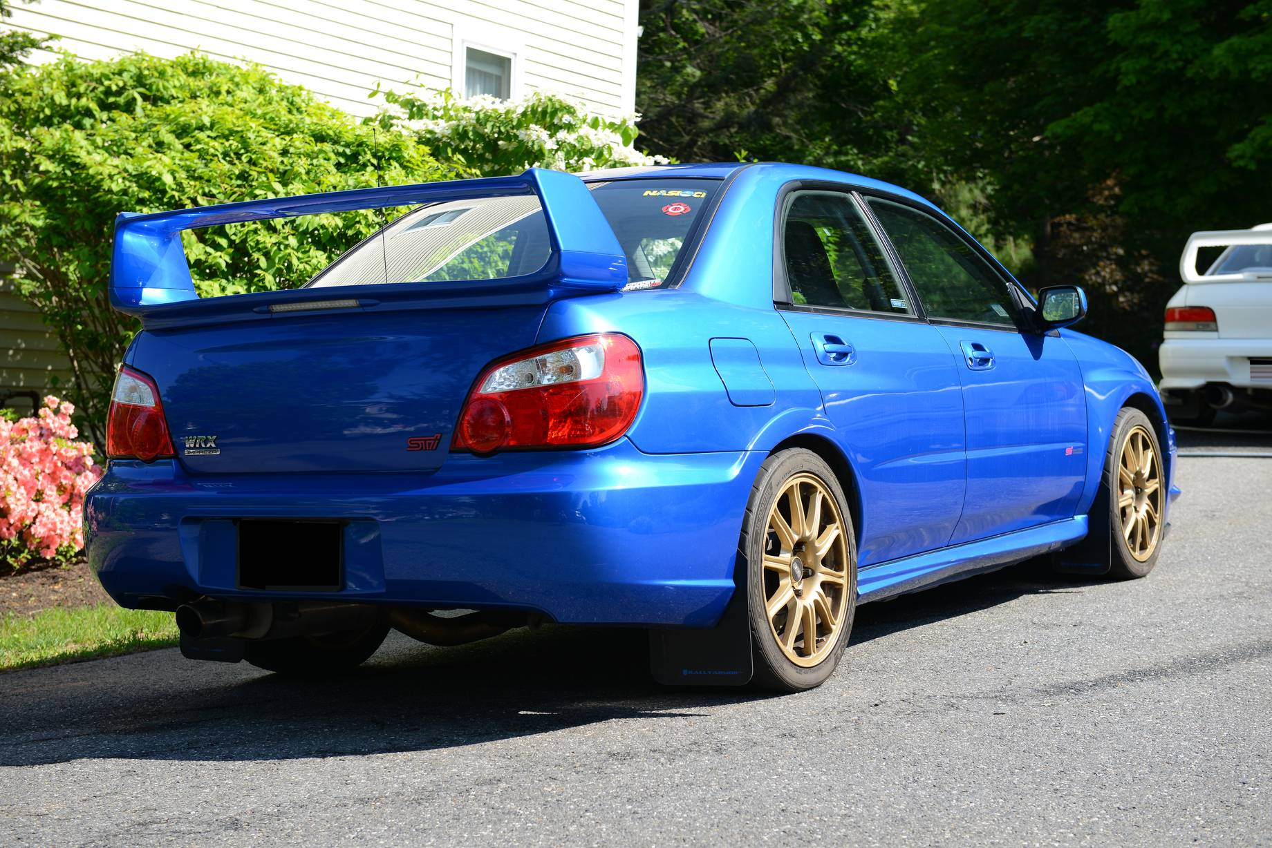 Modified Subaru Sti Clean And Track Ready For